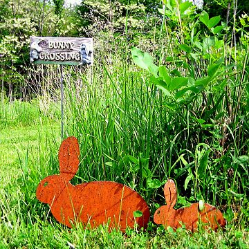 Bunny Crossing by Lynnsong