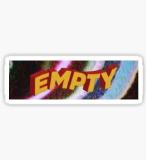 empty Sticker
