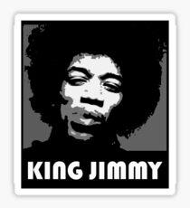 KING JIMMY Sticker