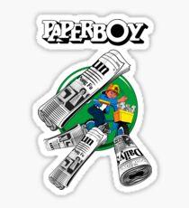 PAPERBOY - CLASSIC ARCADE GAME Sticker