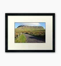 Benbulben mountain 2 Framed Print