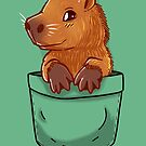 Pocket Cute Capybara by TechraNova