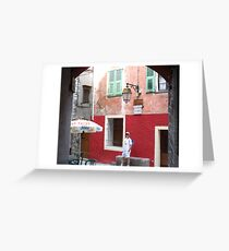 Visit Peille ! Greeting Card