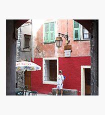 Visit Peille ! Photographic Print