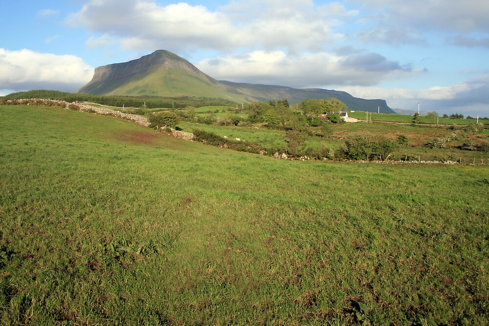 Benbulben mountain 3 by John Quinn