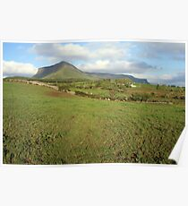 Benbulben mountain 3 Poster