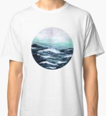 The Motion Of The Ocean - Watercolour Painting Classic T-Shirt