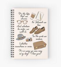 Cuaderno de espiral La vida de un pionero