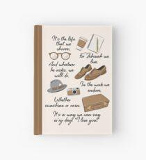 Cuaderno de tapa dura La vida de un pionero