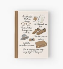 The Life of a Pioneer Hardcover Journal