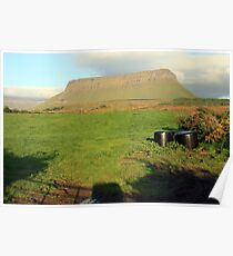 Benbulben mountain 4 Poster