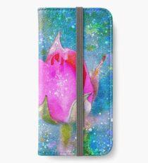 Rose Rhapsodie iPhone Flip-Case/Hülle/Klebefolie