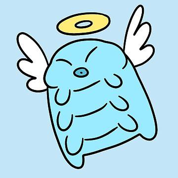 Angel Water Bear by SaradaBoru
