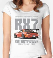 Mazda RX7 Women's Fitted Scoop T-Shirt