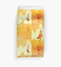 Firestorm Abstract  Duvet Cover