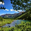 Maroon Lake by Judy Vincent