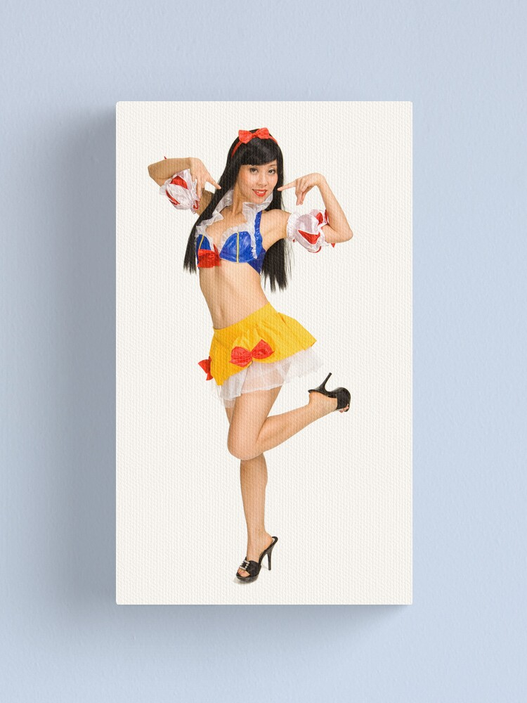 Alternate view of Pinup Canvas Print