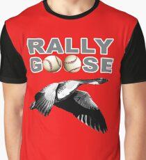 Detroit Rally Goose Deluxe Baseball Meme Design Graphic T-Shirt