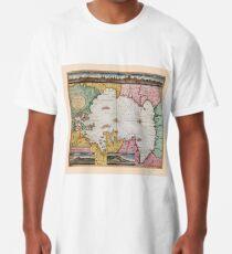 Map Of The Caspian Sea 1720 Long T-Shirt