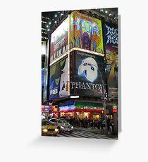 Broadway Grußkarte