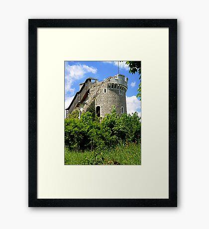 Château de Robert-le-Diable  *Robert the Devil's Chateau* Framed Print