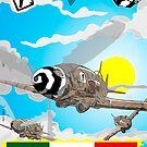 Visconti's Eagles - Poster by CLAUDIO COSTA