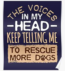 Dog Slogans Posters | Redbubble