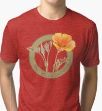 Grass Valley Poppy Tri-blend T-Shirt