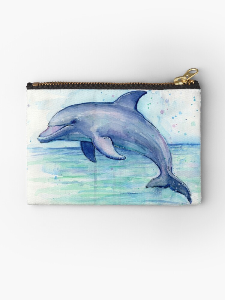 fc66583b13a Dolphin Watercolor