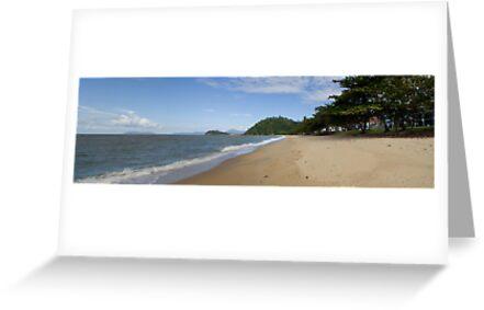 Trinity Beach by Ian Fraser