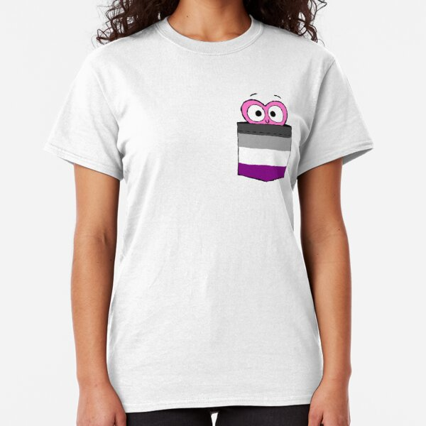 In a Heartbeat - Asexual Flag Pocket Classic T-Shirt