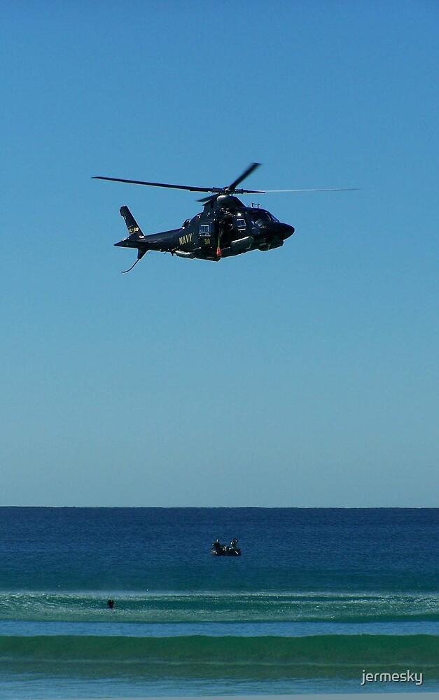 Navy Rescue Training by jermesky