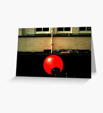 Red buoy Greeting Card