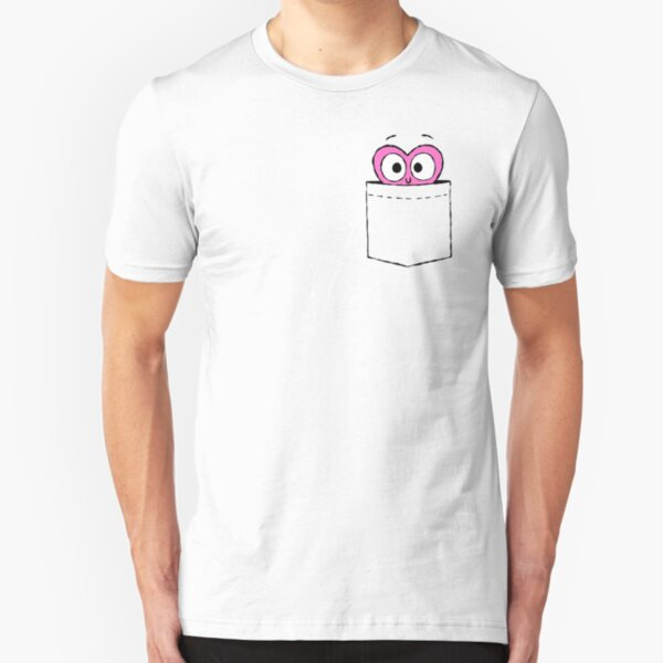 In a Heartbeat - Shirley in a Pocket Slim Fit T-Shirt