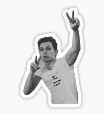 tom holland peace signs Sticker