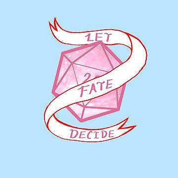 Let Fate Decide -Pastel Dice by eternalsilver