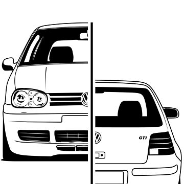 Golf Mk4 GTI Best Shirt Design by CarWorld
