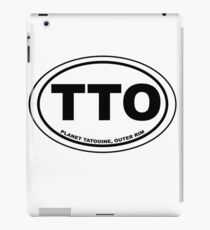 Tatooine Destination iPad Case/Skin