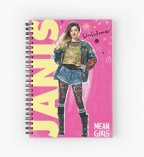 Cuaderno de espiral Janis Mean Girls the Musical - con fondo