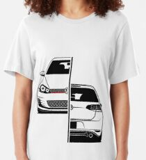 Golf Mk7 GTI Best Shirt Design Slim Fit T-Shirt