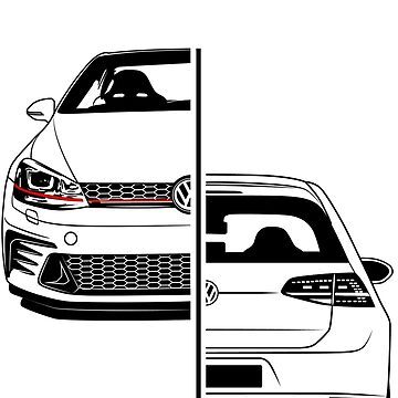 Golf Clubsport GTI Best Shirt Design by CarWorld