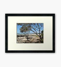 (10)-Back Beach Framed Print