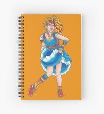 Cyndi Lauper Rainbow Brite Mashup Spiral Notebook