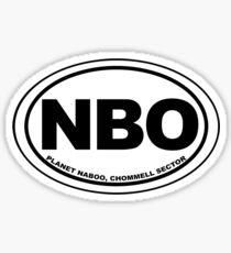 Naboo Destination Sticker