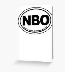 Naboo Reiseziel Grußkarte