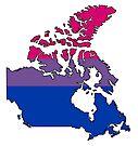 Canada Bi Pride! by Sun Dog Montana