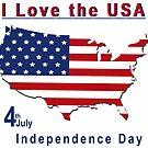 amerikanischer Unabhängigkeitstag von Stefanie Keller
