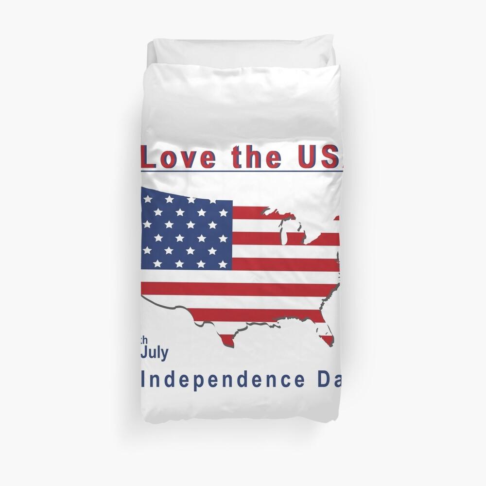 amerikanischer Unabhängigkeitstag Bettbezug