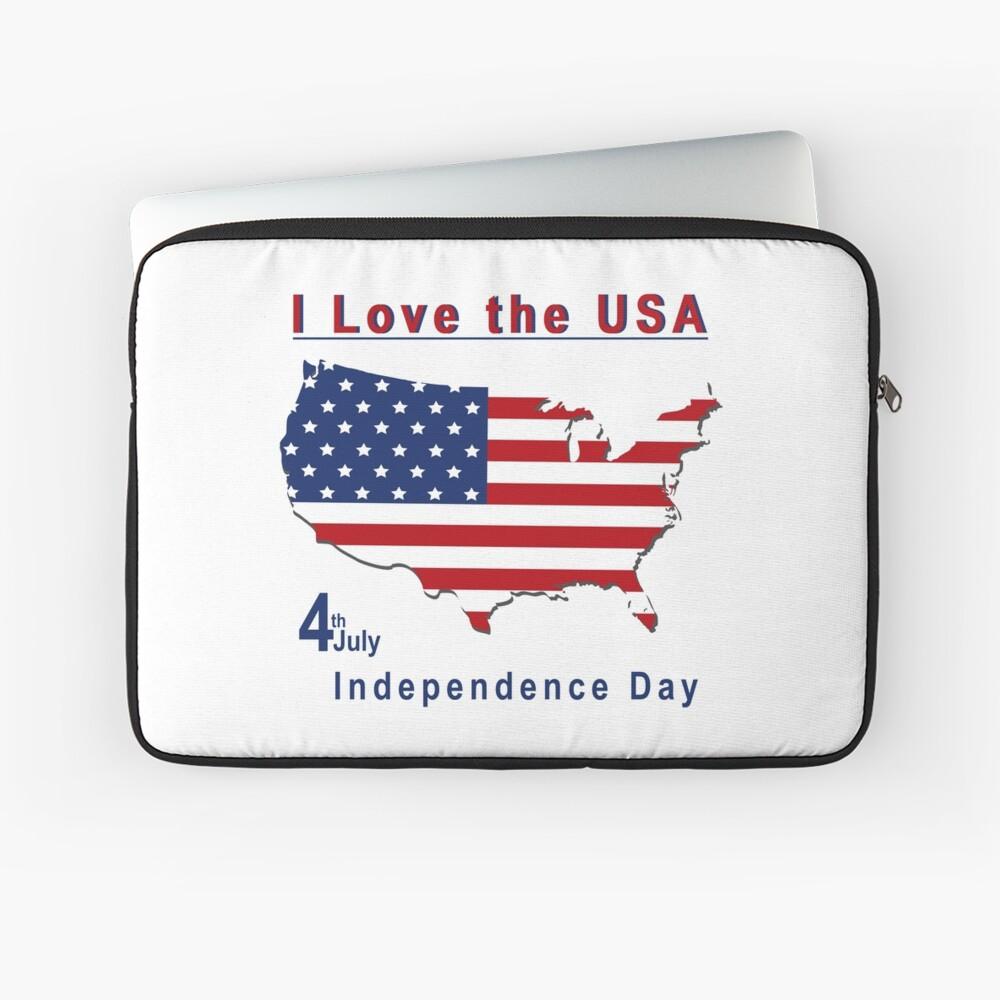 amerikanischer Unabhängigkeitstag Laptoptasche