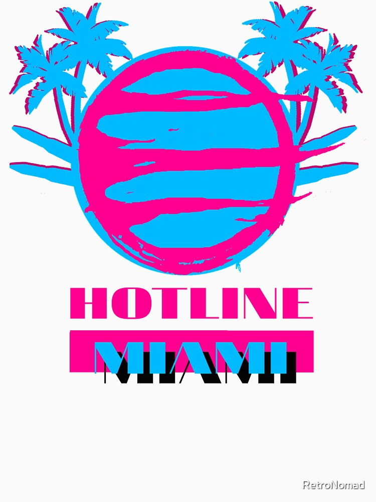 Hotline Miami 80s T-shirt for Men